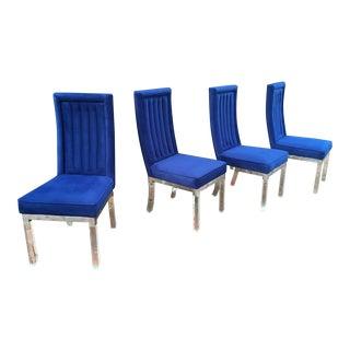 Set of Four Charles Hollis Jones Dining Chairs