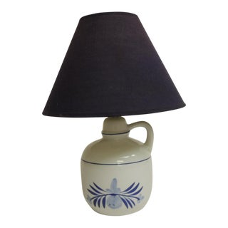 Blue & White Ceramic Table Lamp
