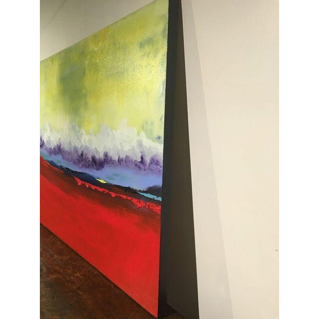 "Vincent Golshani ""Southern Rain"" Painting - Image 4 of 6"