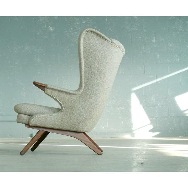 Sven Skipper 1960s Papa Bear Chair Model 91 in the Style of Hans Wegner - Image 6 of 11