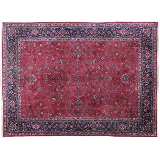 Antique Turkish Sparta Rug - 8′8″ × 11′11″