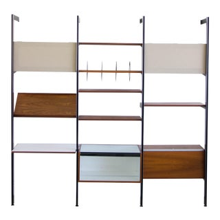 Three-Bay CSS Wall Unit by George Nelson for Herman Miller