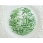 Image of Wedgwood Creamware Dinner Plates - Set of 7