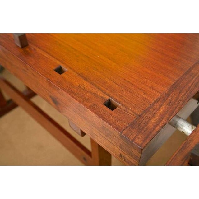 Rhodesian Teak Work Bench - Image 4 of 9