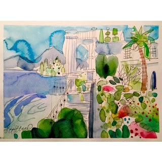 Mediterranean Watercolor