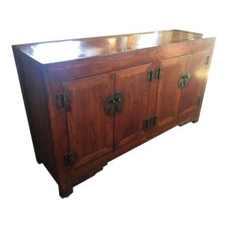 Chinese Lacquer Sideboard/Credenza
