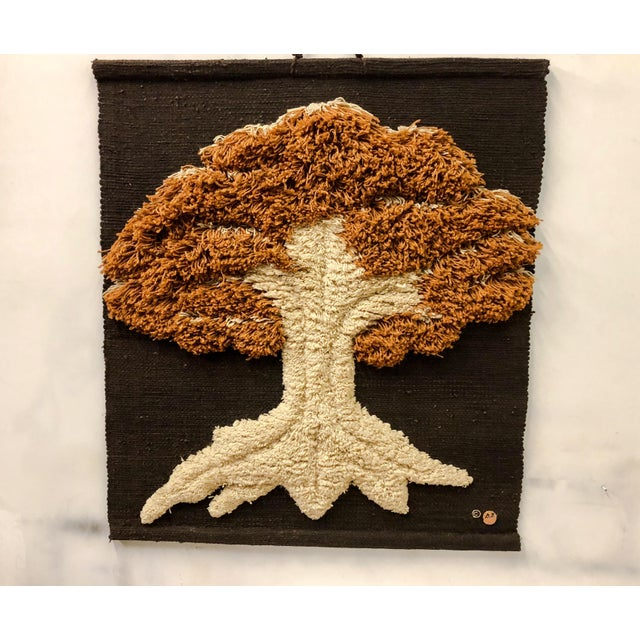 Don Freedman Macrame Wall Hanging of a Tree - Image 2 of 6