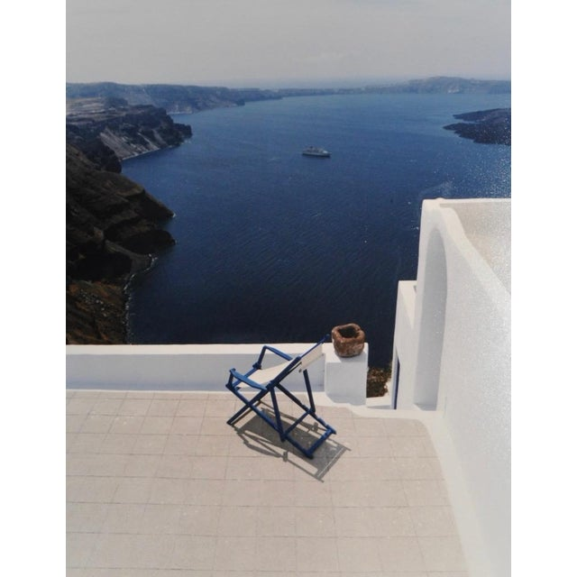 Image of Santorini, Greece Color Photograph Circa 1990s