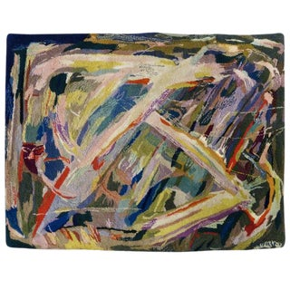 Miripolsky Abstract Expressionist Tapestry