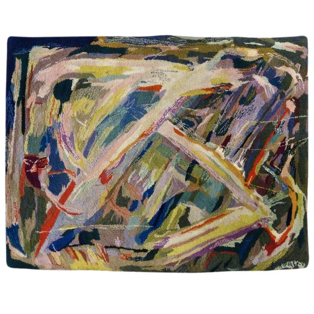 Image of Miripolsky Abstract Expressionist Tapestry