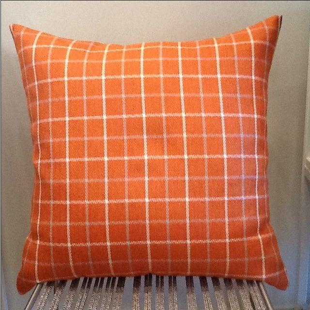 Custom Down Throw Pillows : Custom 24 Inch Tweed Throw Pillow Chairish