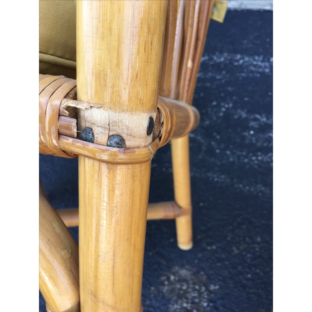 Vintage Ficks & Reed Rattan Barrel Chairs - 4 - Image 10 of 11