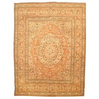 Antique 19th Century Persian Tabriz Carpet