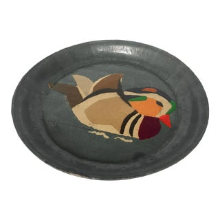 Vintage Collaged Duck Tray