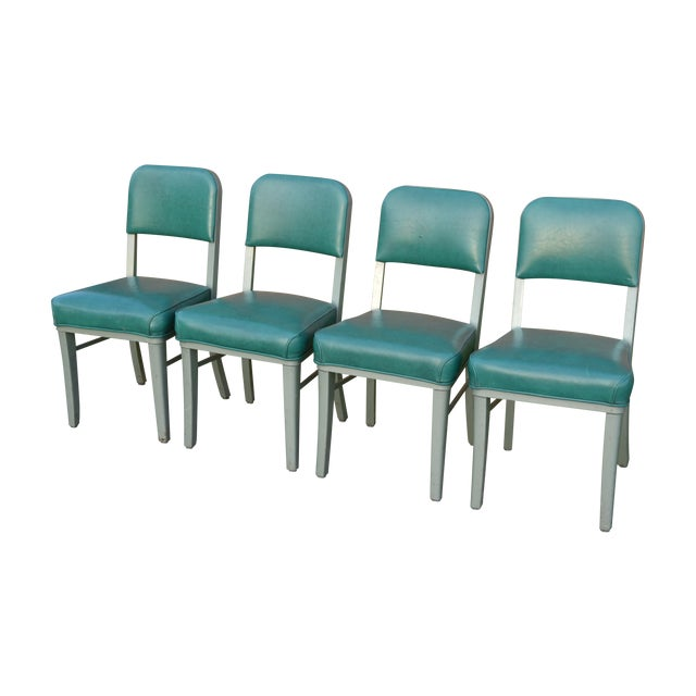 Steelcase Mid Century Office Chairs - Set of 4 - Image 1 of 8