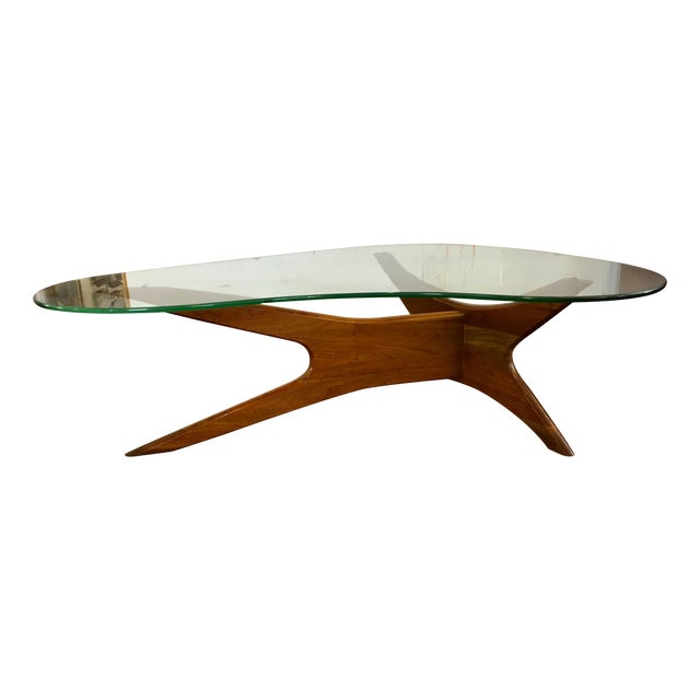Adrian Pearsall Biomorphic Coffee Table - Image 1 of 10