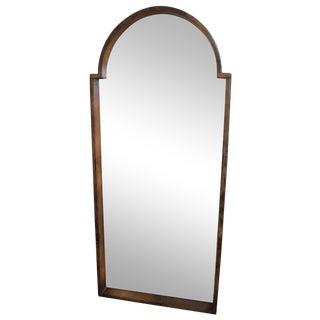 Inset Arch Floor Mirror