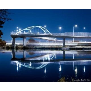 Overpass 1 - Night Photograph by John Vias