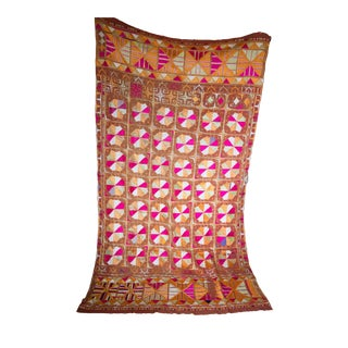Silk and Cotton Indian Phulkari