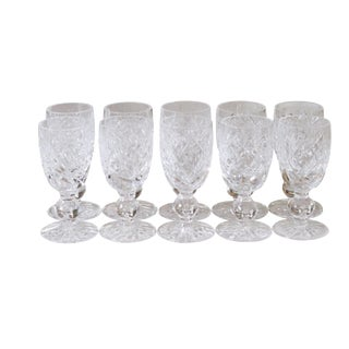 Crystal Sherry Glasses by Waterford - Set of 10