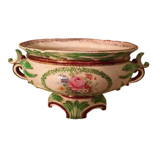 Hand Painted Wedgwood Centerpiece