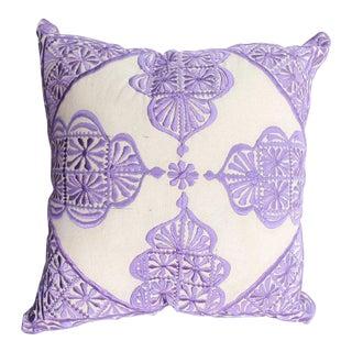 Lavender Rabati Pillow