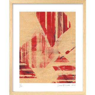 Abstract Framed Art Print by Dana McClure