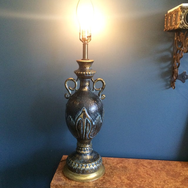 Mid-Century Hollywood Regency Lamp - Image 5 of 8