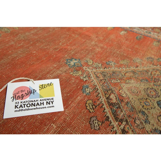 "Antique Fereghan Rug - 3'7"" X 6'1"" - Image 5 of 8"