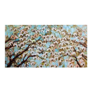 Sakura Flowers Painting 1
