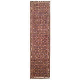 Vintage Persian Hamedan Rug - 3'7'' x 17'5''