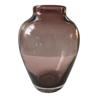 Amethyst Art Glass Vase