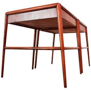 Pair of T. H. Robsjohn-Gibbings Single Drawer End Tables