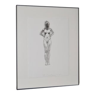 C.1993 Robert Graham Pencil Signed Lithograph