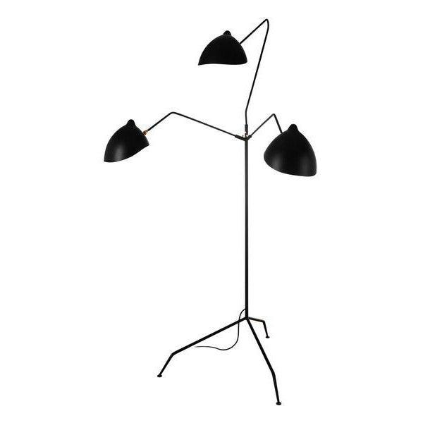 Stilnovo Holstebro Modern Black Floor Lamp - Image 2 of 4