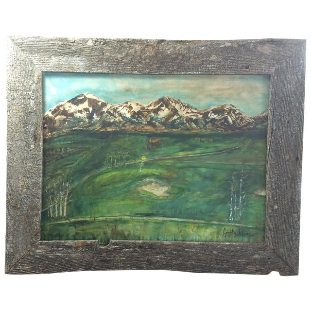 Image of Golfing in the Mountains