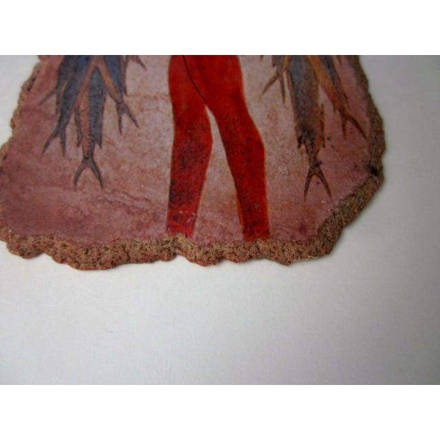 Image of Fisherman Fresco Hand Made Greece