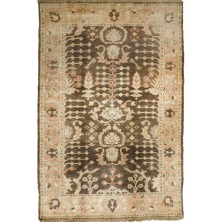 """Indian Hand-Knotted Rug - 3'11""""x 5'11"""""""