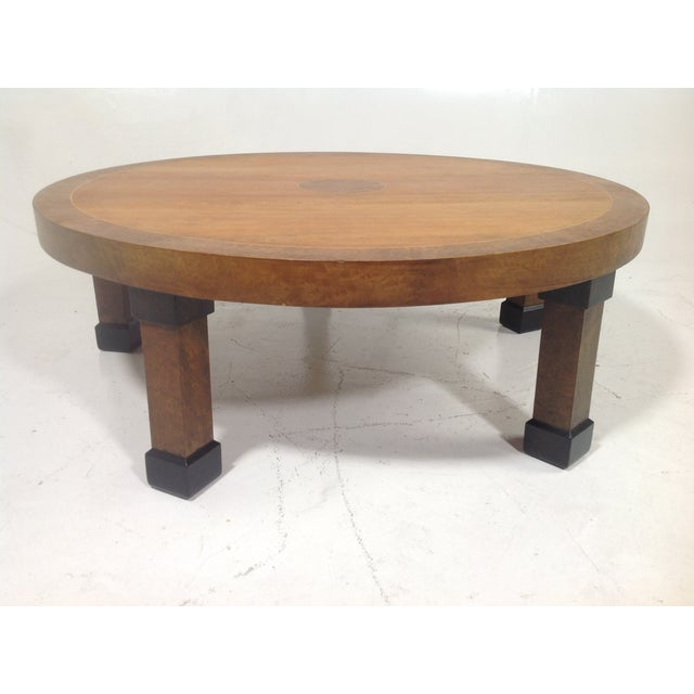 Baker mid century modern coffee table chairish Baker coffee table