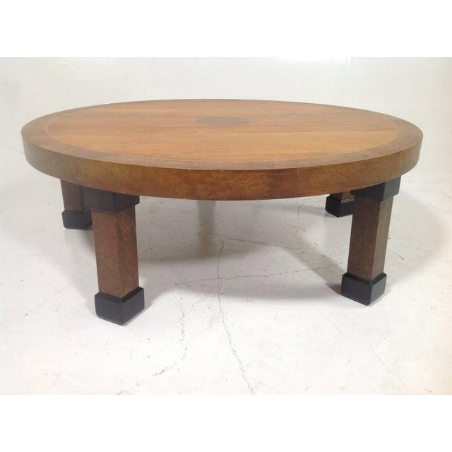 Baker mid century modern coffee table chairish Baker coffee table