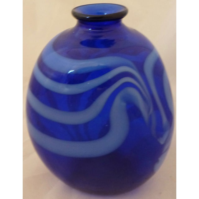 Image of Mid Century Modern Studio Glass Vase