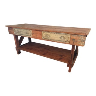 Restored Antique Workbench