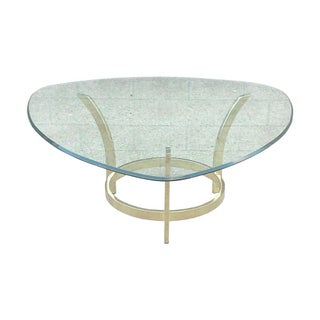 Baughman Brass Coffee Table Base