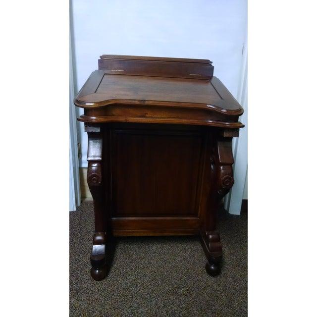 Davenport Captain's Writing Desk - Image 3 of 10