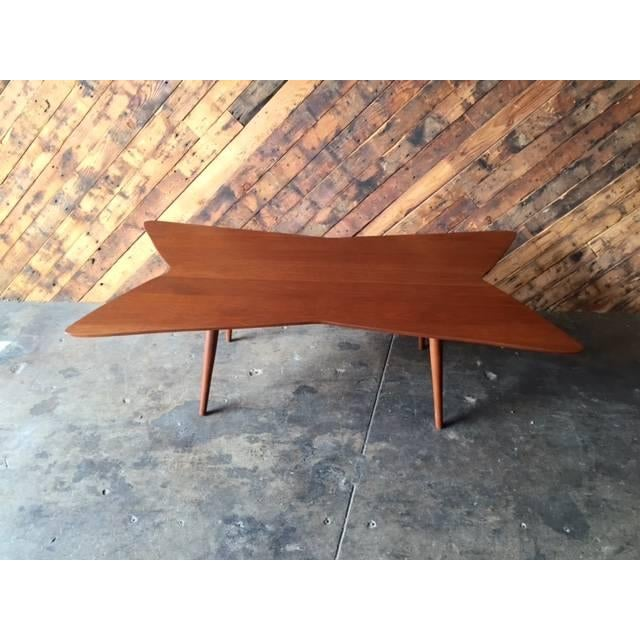 Mid-Century Bow Tie Coffee Table - Image 2 of 6