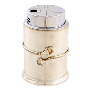Gucci of Italy Cylindrical Lighter