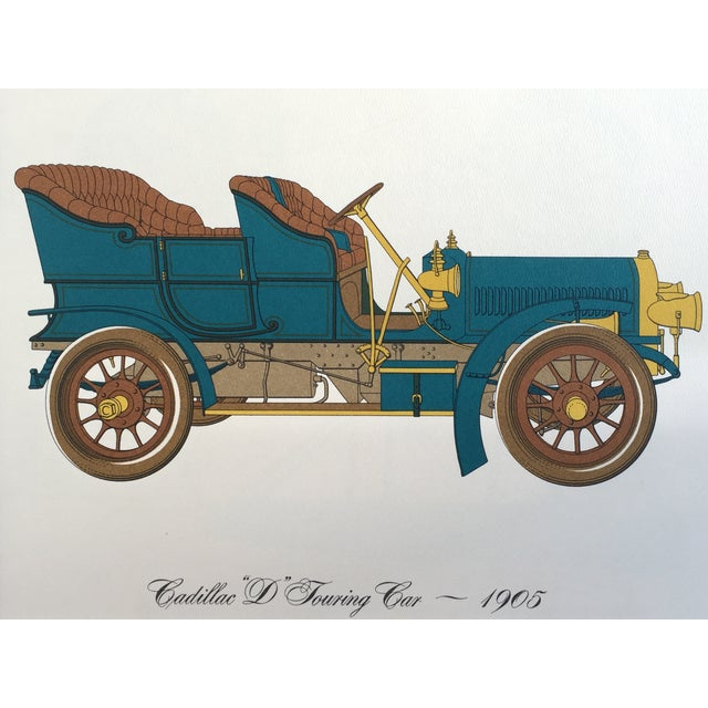 Image of Vintage Cadillac 1905 Touring Car Lithograph