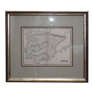 Framed Map of Hispania