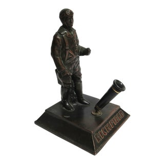 Art Deco Richfield Gasoline Air Pilot Pen Holder