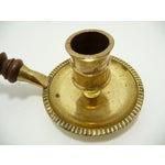 Image of Vintage Brass Chamberstick